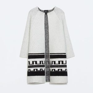 zara | grey Marley coat cardigan